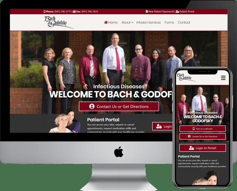 Bradenton Physitian and Doctors Office website design