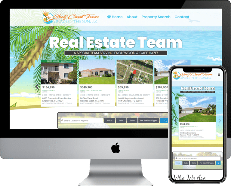 Real Estate and Realtor website design and development using WordPress