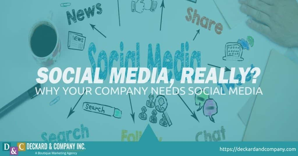 Why does your company or organization need to be social