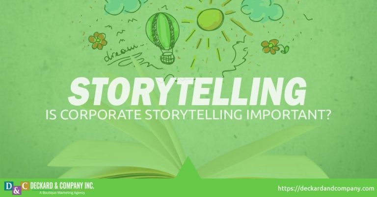 Is corporate storytelling important