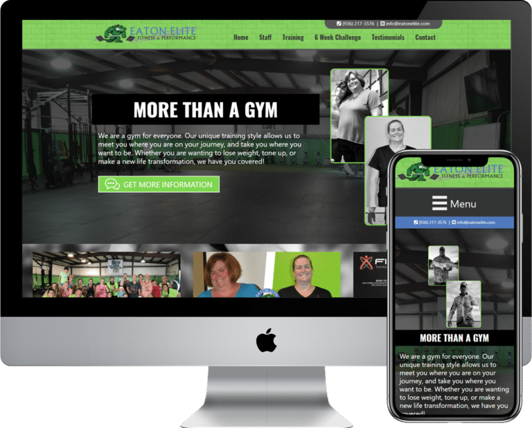 Need a website designed and developed for your gym or trainer