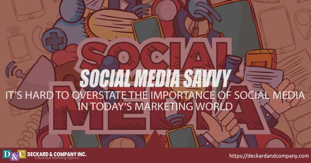 Social Media Savvy, let us manage your social media for business
