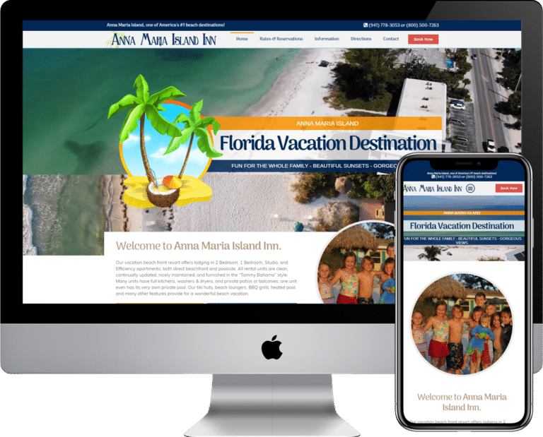 Vacation Rental Website Design and Development