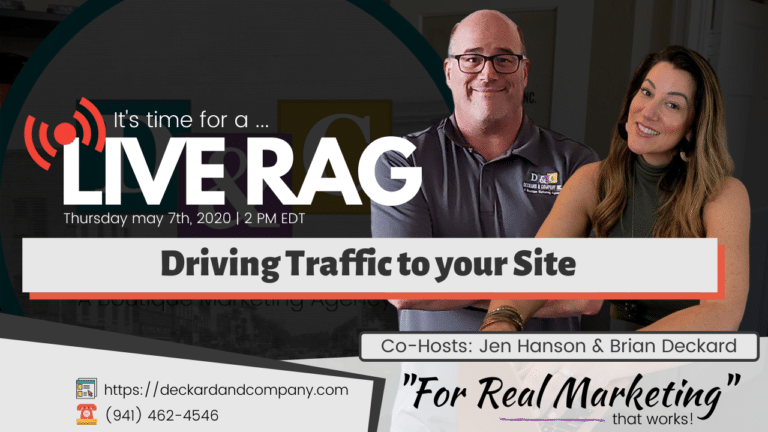 Driving Traffic to your Site
