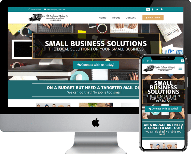 Olde Englewood Mailing a Small Business Solutions