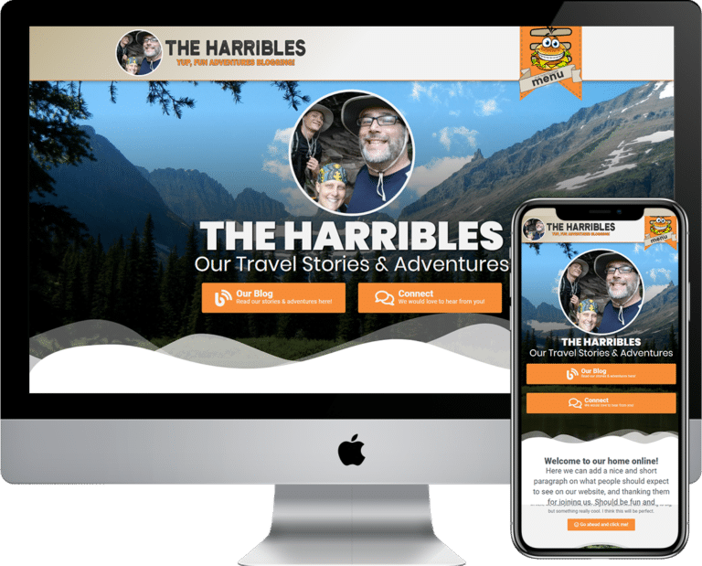The Harribles an Adventure Blogging Family