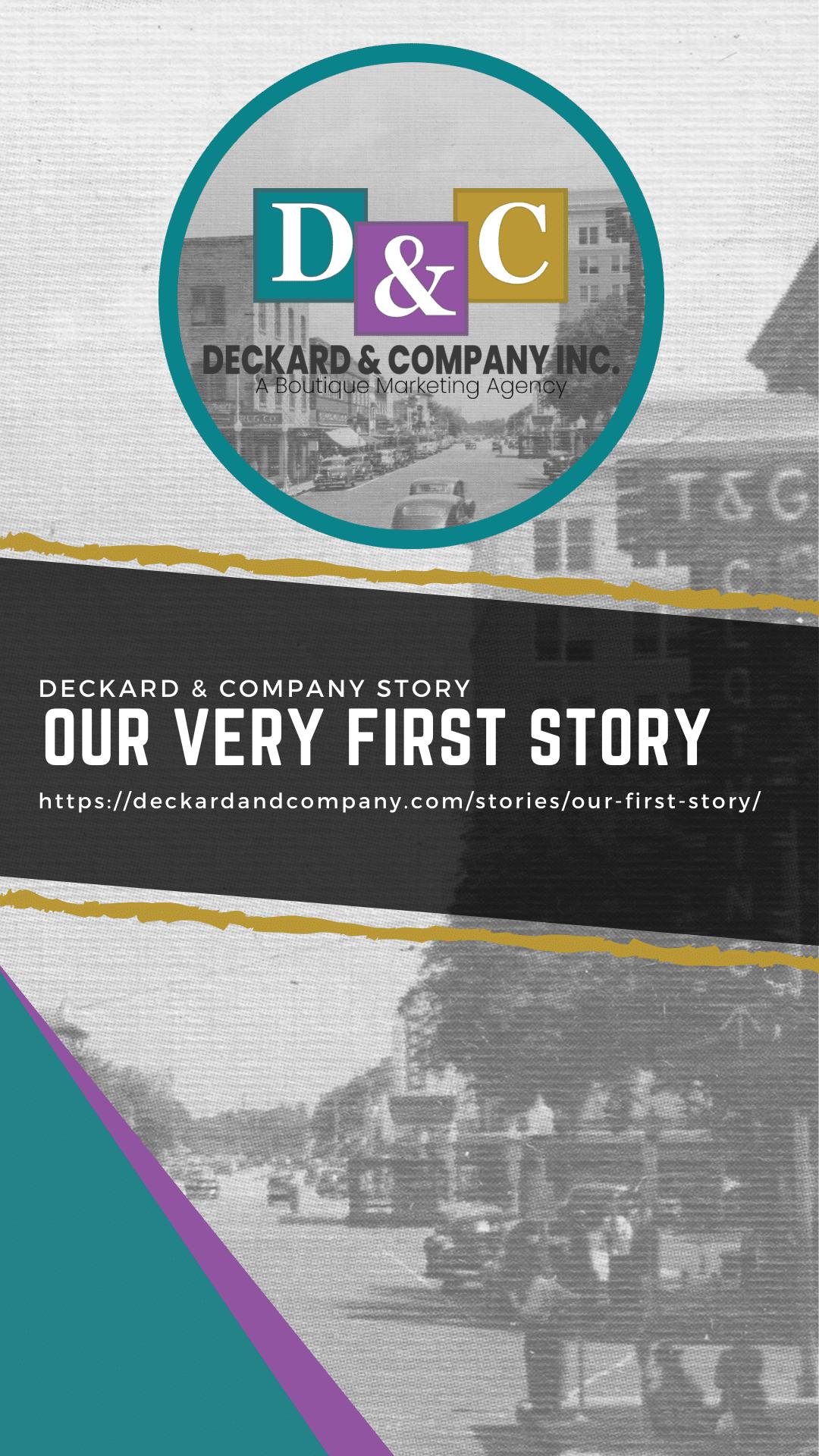 Deckard & Company's very first WordPress Google Story