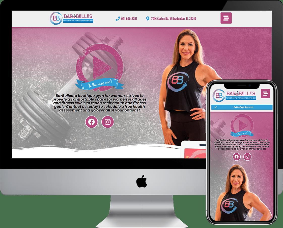 Lanas Barbelles of Bradenton had their website re-designed or built using WordPress designing company Deckard & Company, a Boutique Marketing Agency