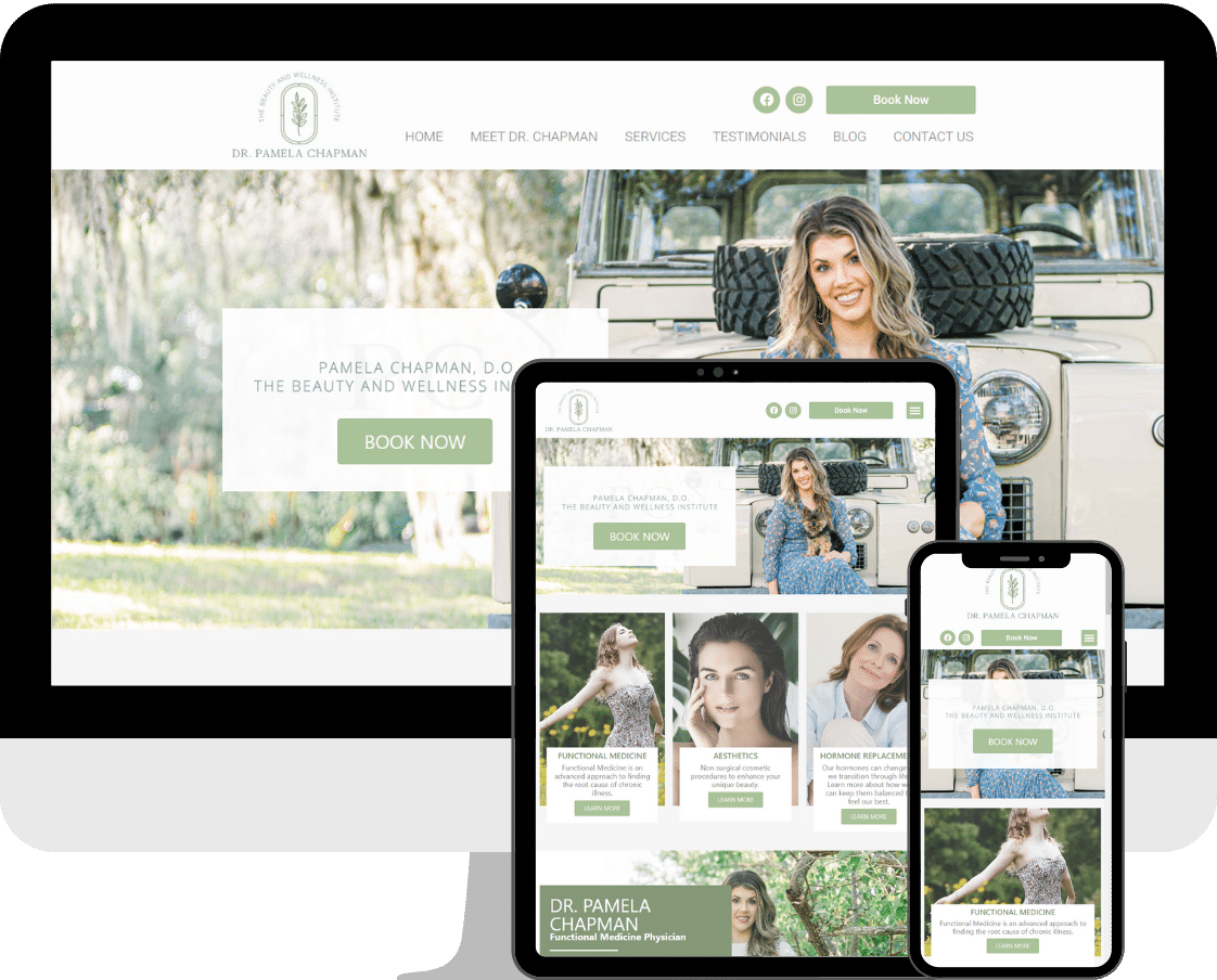 Medical Practice and Doctor website design by Deckard & Company, a Boutique Marketing Agency based in Bradenton, Florida, specializing in WordPress Web Design.