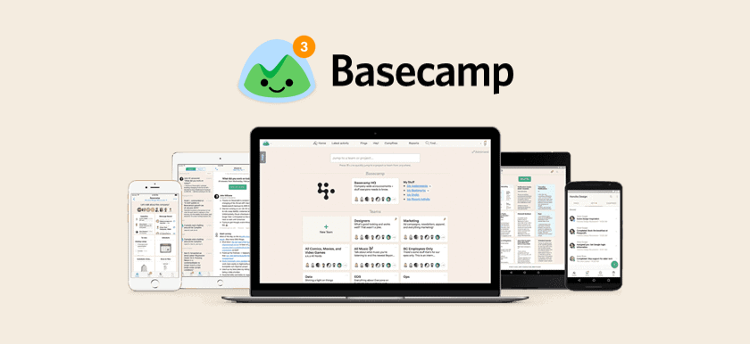 Basecamp is the best project management too for Deckard & Company