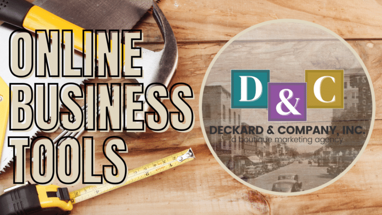Online Business Tools to help you run your marketing agency