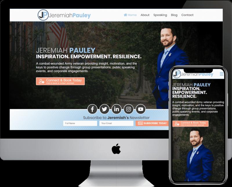 Professional Speaker website design and development agency