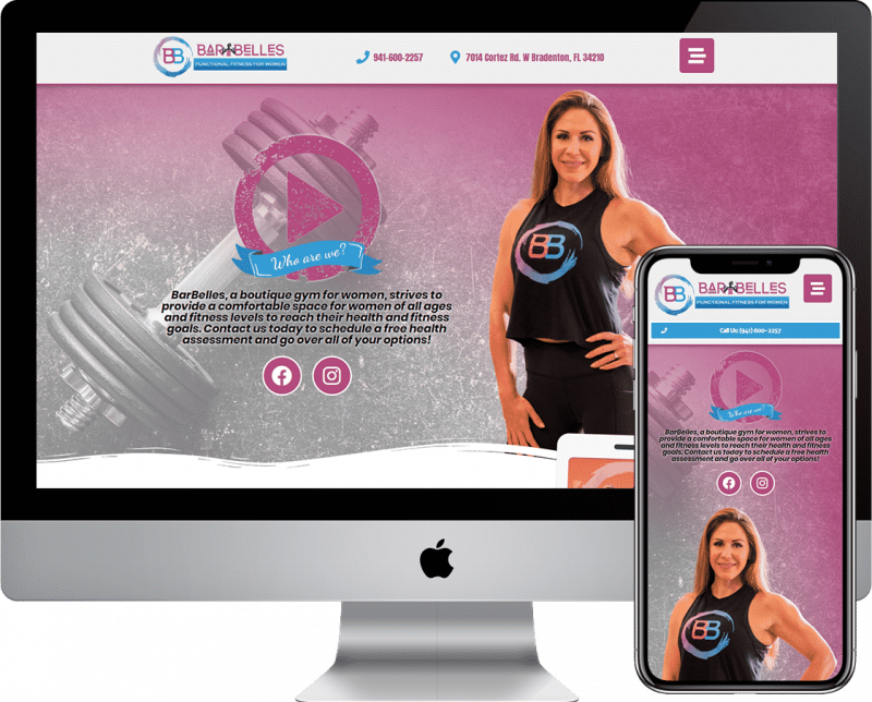 Lanas Barbelles of Bradenton had their website re-designed or built using WordPress designing company Deckard & Company, a Boutique Marketing Agency