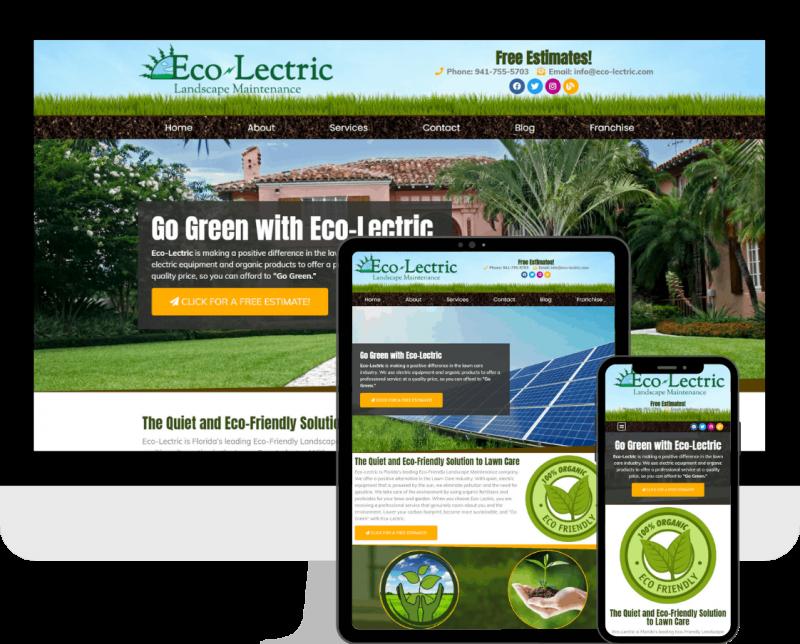 Lawncare maintenance WordPress website design company, Deckard & Company, a Bradetnon/Sarasota based Boutique Marketing Agency.