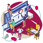 SEO or Search Engine Optimization by Deckard & Company, a Boutique Marketing agency in Florida, specializing in Google Pay-Per-Click campaigns