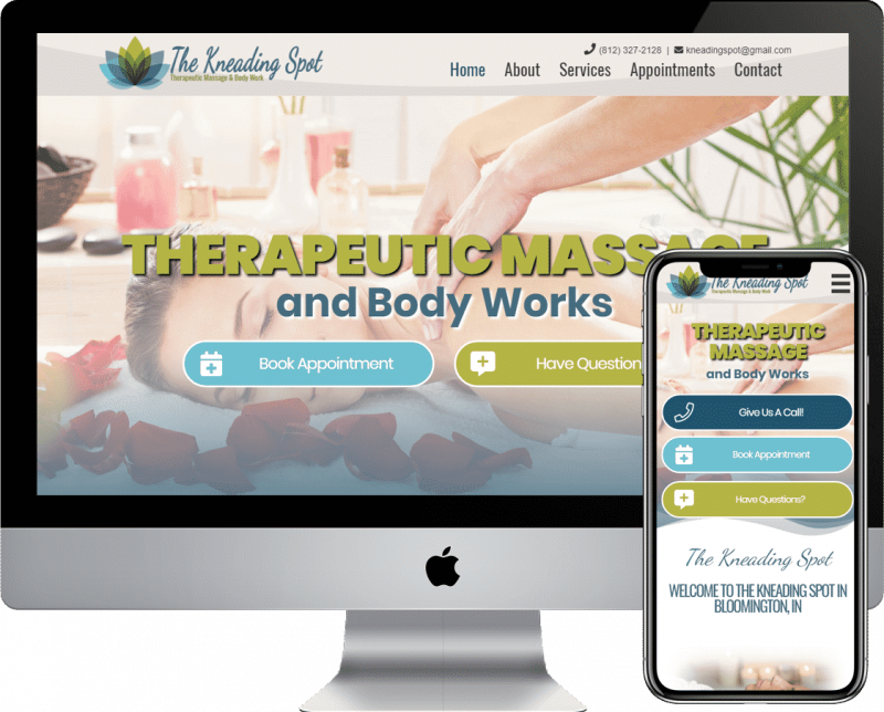 WordPRess website design and development in the Bloomington, Indiana area